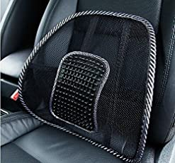 Delhi Traderss Car Seat Massage Chair Back Lumbar Support for All car