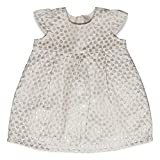 ESPRIT KIDS Baby-Mädchen Kleid RK30081, Weiß (Off White 110), 80