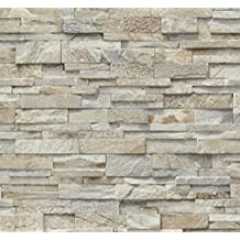 Suchergebnis auf f r tapete steinoptik for Steintapete braun