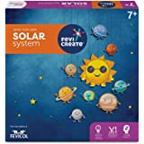 Pidilite Fevicreate Educational Game, DIY Solar System Craft Kit for Kids, Fun & Learning Science Project Kit for 7 Years & A
