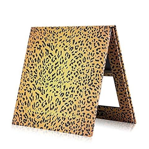 Gaddrt Palette magnétique vide Maquillage Palette Pad Leopard Large Pattern DIY Palette Nouveau (Multicolore)