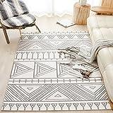 SESO UK Nordic abstrakten Teppich weichen bequemen rutschfesten großen Teppich für Schlafzimmer Nacht Wohnzimmer Dekoration Dicke-6mm (größe : 200X300cm)