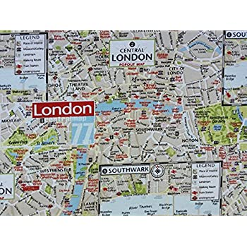 London Uk Map Print Fabric 100 Cotton Designer Curtains