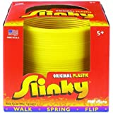 POOF-Slinky Model #110 Plastic Original Slinky in Box, Single Item, Assorted Colors by Slinky