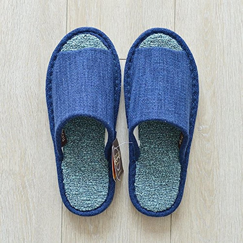 zhirong deux pantoufles pantoufles pantoufles de matériel moderne à plancher bas tapis respirants des hommes et des femmes à l'intérieur du printemps et de l'automne.b07513f1nh parent 50fbbb