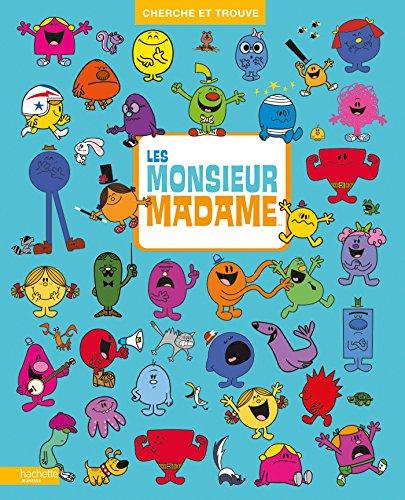Monsieur Madame Compilation Cherche et Trouve 1 et 2 par Hachette Jeunesse