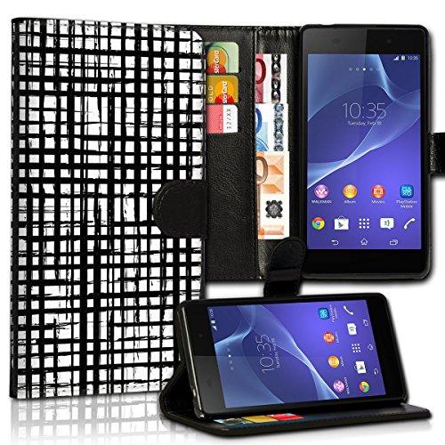 Wallet Book Style Flip Handy Tasche Case Schutz Hülle Schale Motiv Etui für Apple iPhone 6 Plus / 6S Plus - Variante UMV1 Design12 Design 9