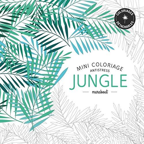 Mini coloriage antistress «Jungle»