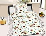 Jiya Decor 100% Cotton Single Bed Sheet ...