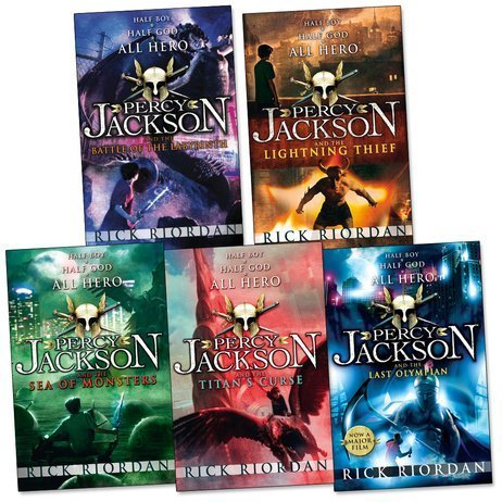 Percy Jackson Pack, 5 books, RRP 34.95 (Battle Of The Labyrinth; LightningTh...
