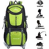 Gohyo Sac à Dos Randonnée 50L/60L Casual Daypack Léger Etanche Backpack pour Ecole Trekking Voyage Camping Alpinisme