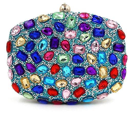 STRAWBERRYER Cristal De Diamant Mesdames Européens Et Américains Partie Nuptiale élégant Sacs à Main D'embrayage Soir G