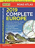 Philips 2019 Complete Road Atlas Europe: (A4 with practical flexi cover) (Philips Road Atlas)