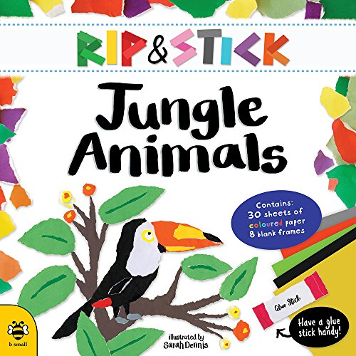 Rip & Stick Jungle Animals (Animal Sticks Small)