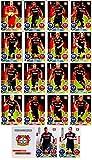 Match Attax Bundesliga 2016 2017 - 19 Karten-Set Bayer 04 Leverkusen Basiskarten Clubkarte Kapitän Starspieler - Deutsch