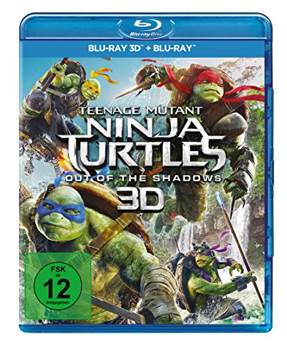 Turtles - Out of the Shadows  (+ Blu-ray 2D) ()