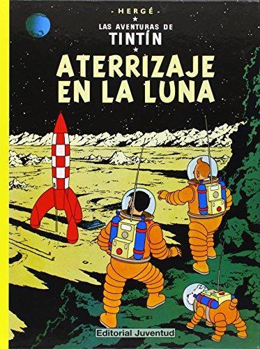 C- Aterrizaje en la luna (LAS AVENTURAS DE TINTIN CARTONE) por HERGE-TINTIN CARTONE III