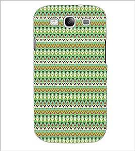 SAMSUNG GALAXY S3 ZIG ZAG PATTERN Designer Back Cover Case By PRINTSWAG