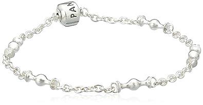 Pandora schmuck  Pandora Damen-Armband Sterling Silber 'Capture' mit space für fünf ...