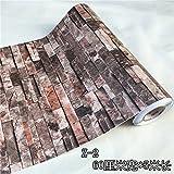 retro - tapete tapeziert antiken kacheln, brick wallpaper wallpaper wallpaper selbstklebende schlafzimmer restaurant hintergrund,breite 60cm länge 5m