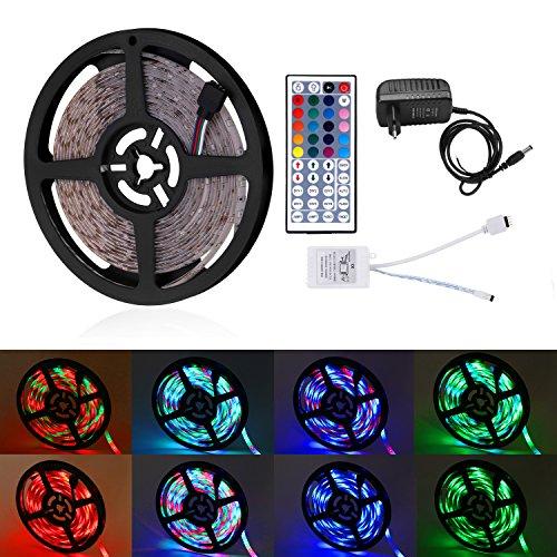 Tira LED 5m 300 Leds 2835 RGB Impermeable Multicolor LED Strip Light...