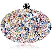 Borsa donna Bling cristallo strass moda borse di frizione-partita per banchetti , color