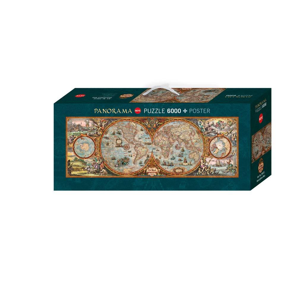 Heye, Modelo HEYE-29615, Puzzle de 6000 piezas