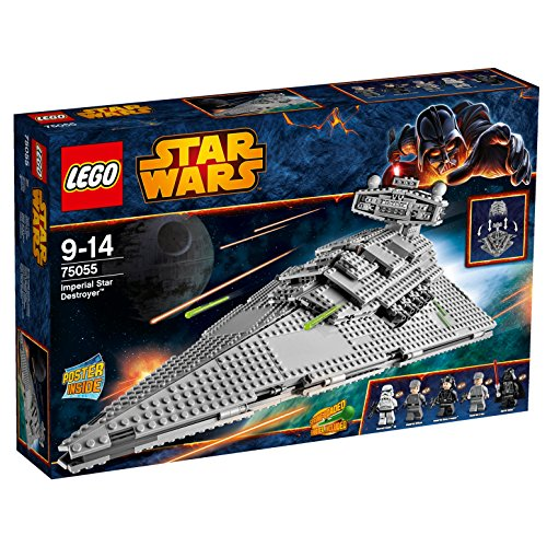 LEGO Star Wars 75055  - Imperial Star Destroyer, set de juego
