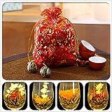 buyer-first 10ps palla a mano fioritura processo cinese artistico di fiore tè profumata casuale Confezione