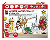 Marabu 040600119 - Window Color Set 25 ml, Winter Wonderland