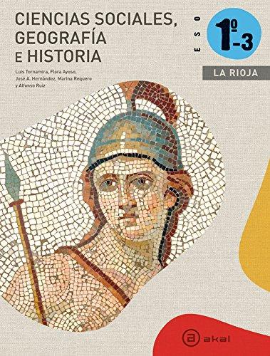 Ciencias Sociales 1º ESO - La Rioja (Enseñanza secundaria) - 9788446035954