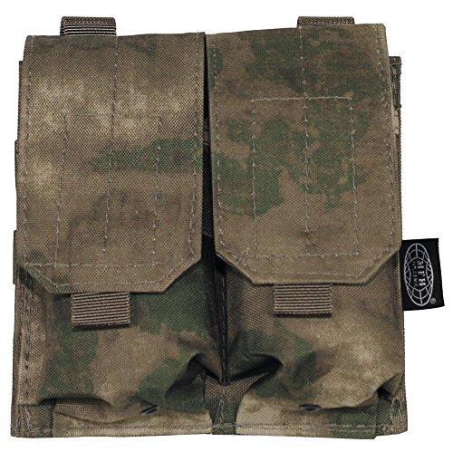 """MFH Magazintasche """"Molle"""" Doppelt Modular-System UBW Army Tasche Munitionstasche 16x16cm viele Farben HDT-camo FG"""