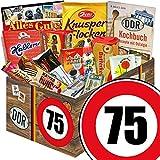 Ostpaket L | DDR Suessigkeiten-Box | Zahl 75 | GeburtstagVati