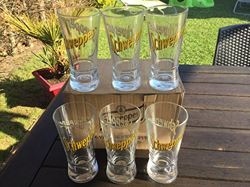 lot-de-6-verres-schweppes-tubes-neuf-tres-beau
