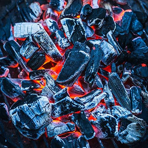 61mVkhdQzEL. SS500  - Blazebox 10KG BBQ Charcoal Premium Restaurant Grade Lumpwood, Large Chunks For Longer Burning Barbecues (1 x 10KG Bag)