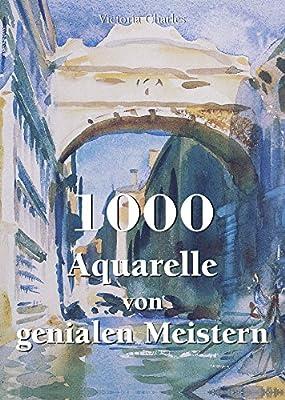 1000 Aquarelle von genialen Meistern von Parkstone International bei TapetenShop