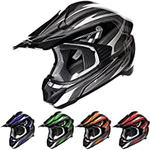 Casco Mx Stealth 2015 Hd203 Edge Negro-Plata (Xxl , Negro)
