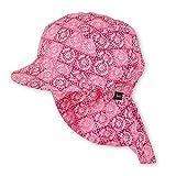 Sterntaler Schirmmütze für Mädchen mit Nackenschutz, Alter: 12-18 Monate, Größe: 49, Pink