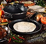 from Tefal Tefal Non-stick Kadai Madras Collection, 26 cm - Black Model A7495244