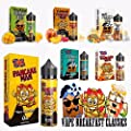 Vape Breakfast Classics E-Liquid - Pancake Man, Unicorn Cakes, French Dude - 60ml/120ml Shortfill - 0MG - 100% Genuine from Premier Vaping by Vape Breakfast Classics