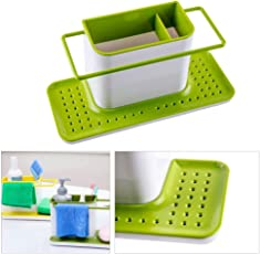 HOUSKI 3 IN 1 Stand for Kitchen Sink (GREEN)