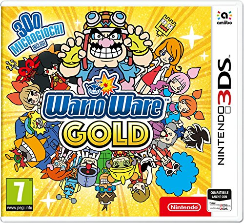 3Ds Warioware Gold New Nintendo 3DS