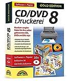 CD/DVD Druckerei 8 mit Papier Bild