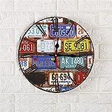 Elegante salotto orologio bar orologio muro orologio da parete in legno di quarzo una varietà di opzioni , 007