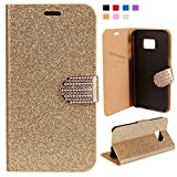 Galaxy S7 Case,FISHBERG Luxury Cover Bling...
