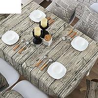 tessuto del panno di tabella vintage wood grain/Giardino soggiorno casa