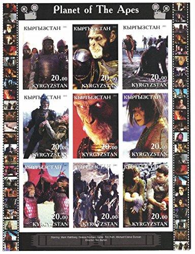 sellos-para-coleccionistas-pelicula-imperforfate-sello-hoja-con-planeta-de-los-simios-mark-wahlberg-