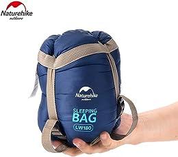 Naturehike Fabric Outdoor Sleeping Bag (Dark Blue, FBA_LW180)