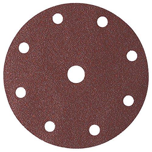 50 St Velcro ø125 mm meules papier abrasif 8 trous grain 40-220