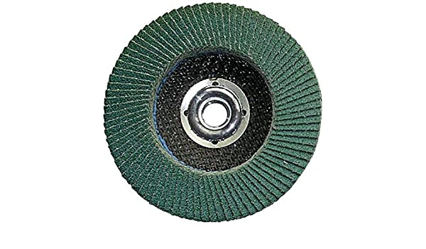 Grit-36 Shark 13140    7-Inch by 0.875-Inch Zirconia Flap Disc